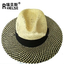 braided paper promotional panama hat cheap wholesale paper straw hat