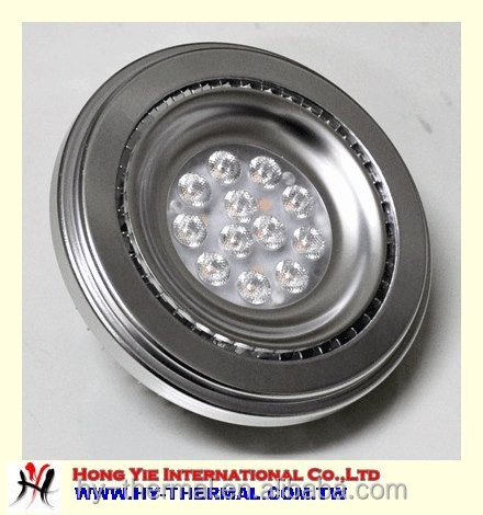 22W Custom aluminum casting LED lighting housing