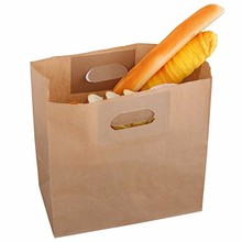 Fast food paper bag takeout bread pancake fried chicken paper bag