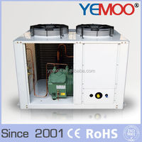 YEMOO u-box type refrigerator freezing copeland semi hermetic condensing units