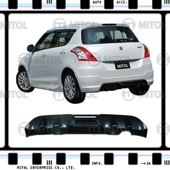 For SUZUKI SWIFT Rear Bumper Diffuser Cover 11-ON Car Body Kits
