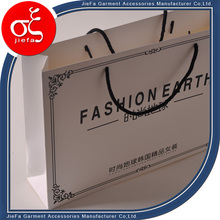 Fancy Tote Shopping Bag White Paper Material Shopping Bag