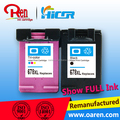 Remanufactured ink cartridge for hp 678xl With chip replacement cartridges for hp678