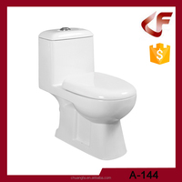one piece floor mounted one piece toilet commode