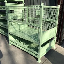 Custom evergreat wire mesh container metal steel grid storage cage