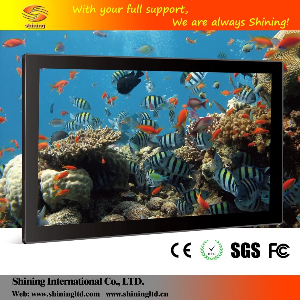 SH1851WF-T 18 inch or <strong>17</strong> touch wall-mounted electric mirror advertising display