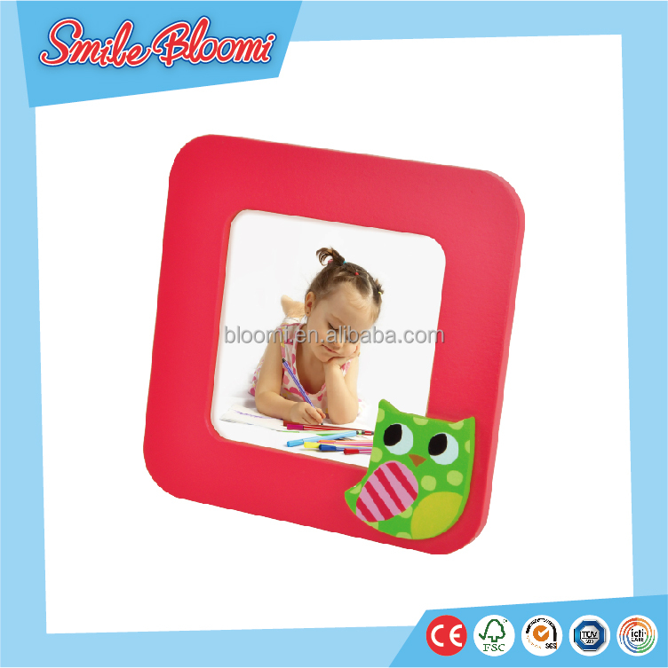 wooden mini crafts photo frame