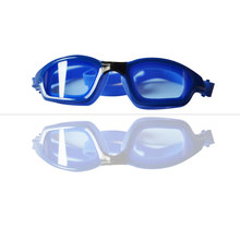 High quality safety comfortable waterproof anti fog UV PROTECT silicone swimming goggles 2016