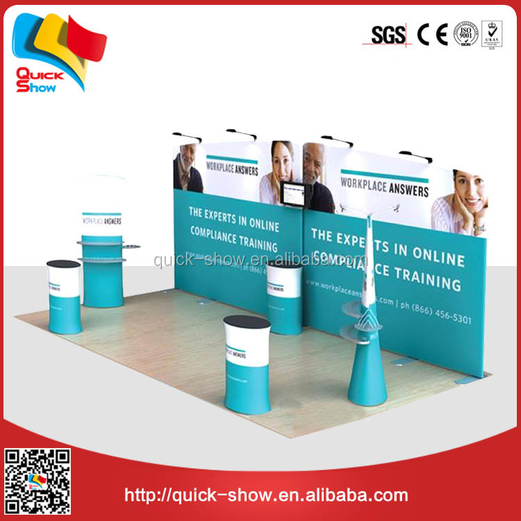 aluminum truss trade show booth exhibit display Easy To Carry trade show display