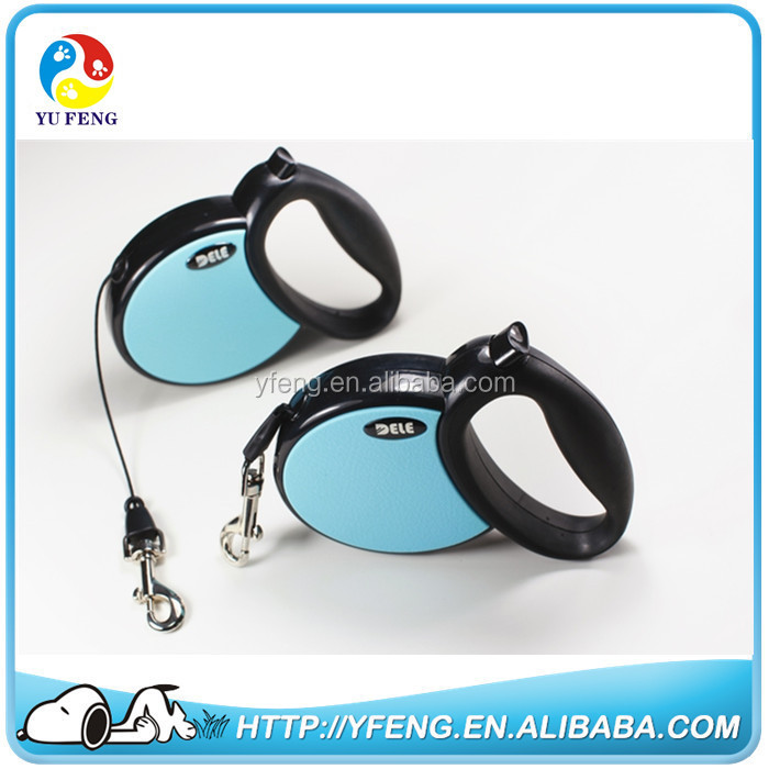 2016 factory wholesale large retractable dog leash with 5m tape for dog up to 40kg