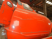 Used lifeboat for sale Totally Enclosed Type Fiberglass Life boat Marine Used Open Lifeboat