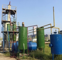 5tons/10tons capacity waste black engine oil refining machine