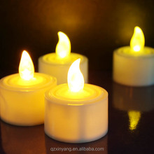Yellow Flickering LED Candle,led candles walmart