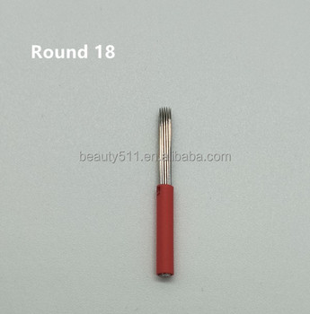 Wholesale High quality Disposable Professional Manua eyebrow Tattoo microblading needle Tattoo tools R18