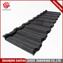 Galvanized colorful sand coated steel stone roof tile