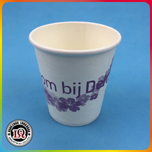 7oz Paper Hot Coffee Cup for Vending Machine