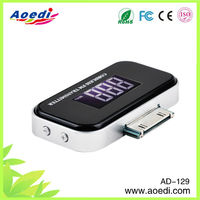 Hot selling!!!brand new car mp3 fm modulator,sport mp3 fm radio , mp3 fm modulator well of AD-129
