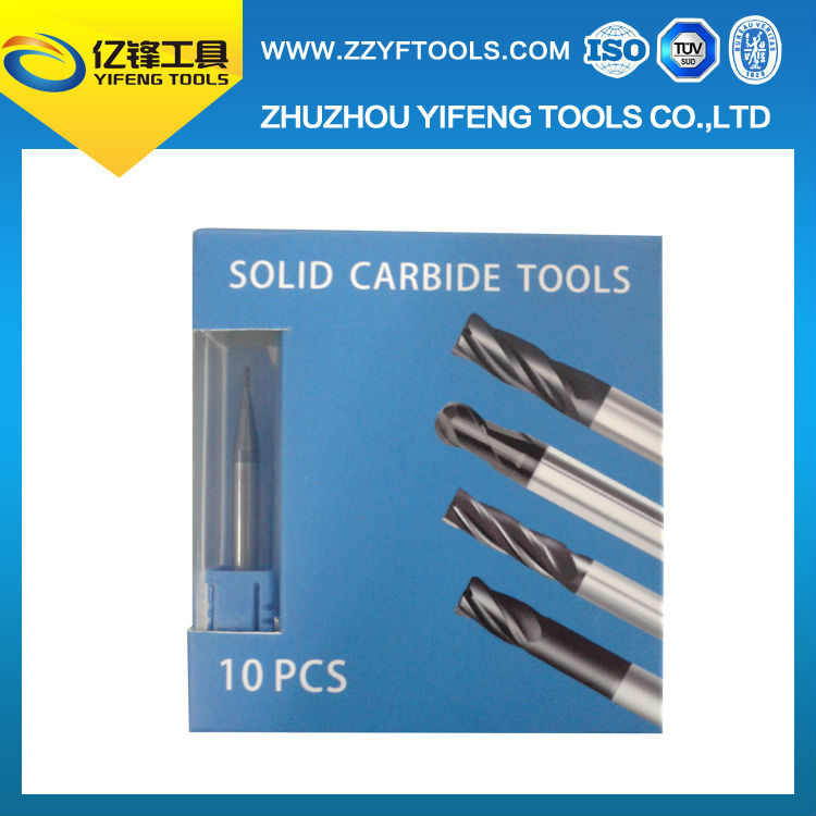 4F tungsten carbide marble cutter HRC 45 tungsten carbide profile milling cutter tool in parts