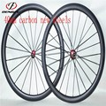 carbon wheels road bike 40MM carbon Tubular rim wheelset 700C carbon road bike wheels
