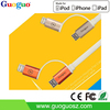 2016 Promotional Phone Accessory 2 in 1 MFi Certified Cable 8pin USB Cable for iPhone and Android