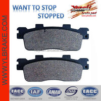 For benelli motorcycles spare part brake pad;for kymco spare parts brake pad;For KYMCO Downtown/Superdink 125i brake pad