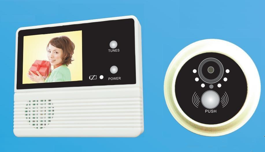 120 grad berwachungskamera digital t rspion viewer. Black Bedroom Furniture Sets. Home Design Ideas