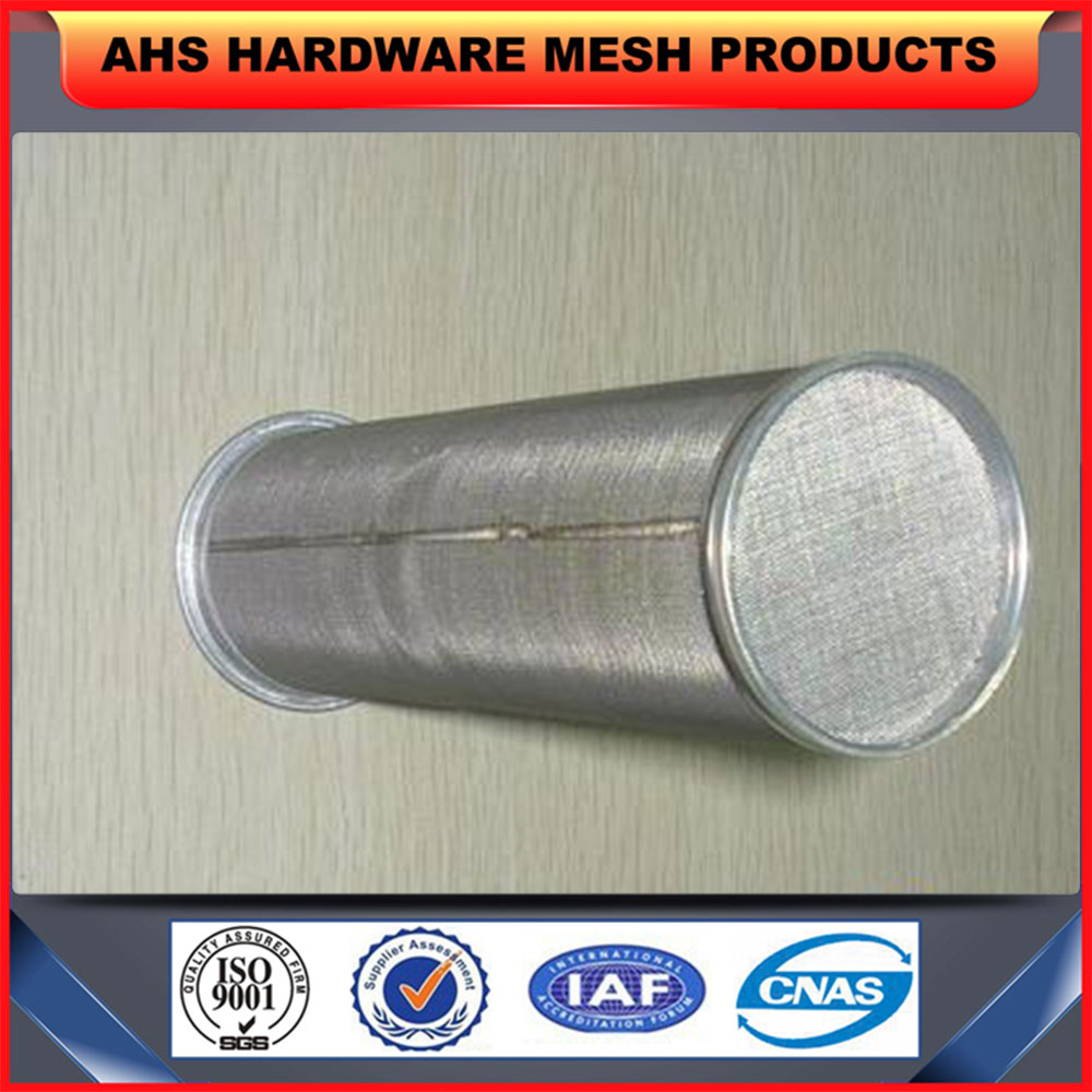 stainless steel perforated metal mesh pipe filter tube