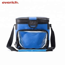 Everich Hot Sale New Products Private Label Insulated Waterproof Lunch Cooler Bag With Drink Holder Tote Can Coolers Frozen