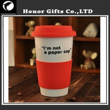 Hot Products Eco-friendly OEM Logo Customized Ceramic Coffee Mug With Lid