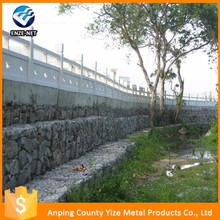 dimensions of 1x1x2m Welded Gabion wire mesh fence basket for wall