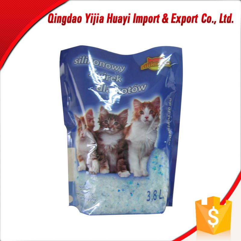 White Bentonite Crystal Litter Cat
