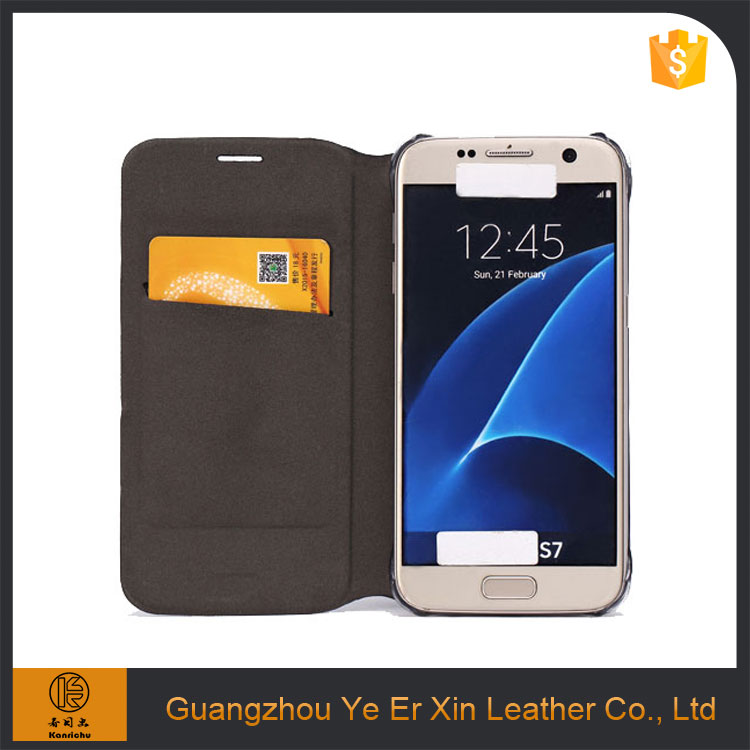 China supplier factory price wholesale guangzhou custom design leather mobile phone case for samsung galaxy s5 s6 s7 edge