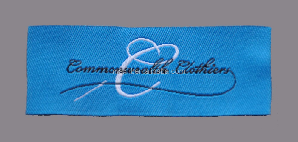 High quality custom clothing labels