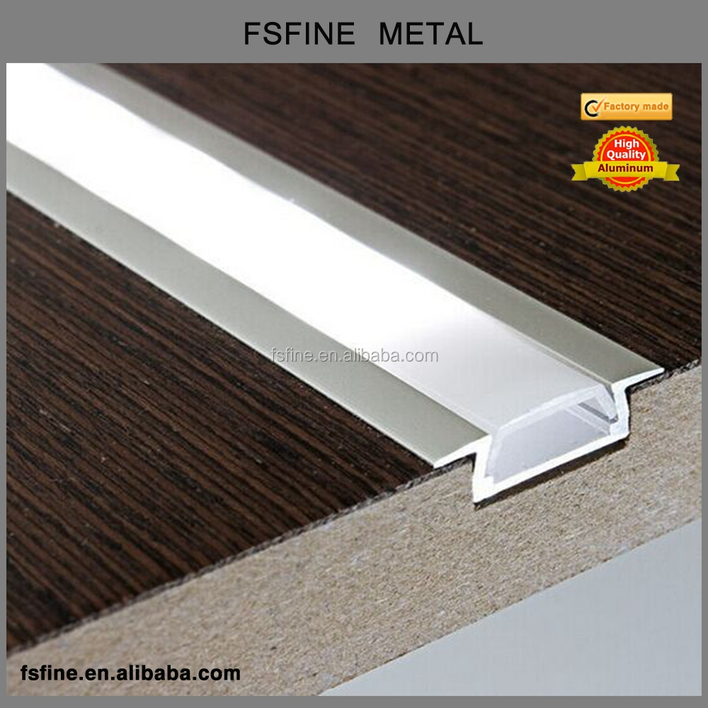 6063 Series Aluminum LED Profile for LED Strip, LED Light Bar Aluminium Extrusion Profile for Wall or Ceiling Light Decoration