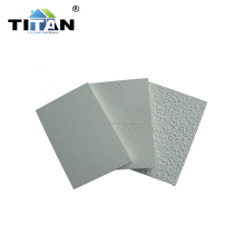 Vinyl Coated 60x60 PVC Laminated Gypsum Ceiling Tiles
