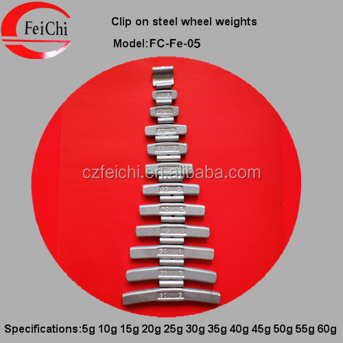 fe wheel weight clip-on
