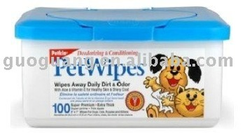 pet care wipes