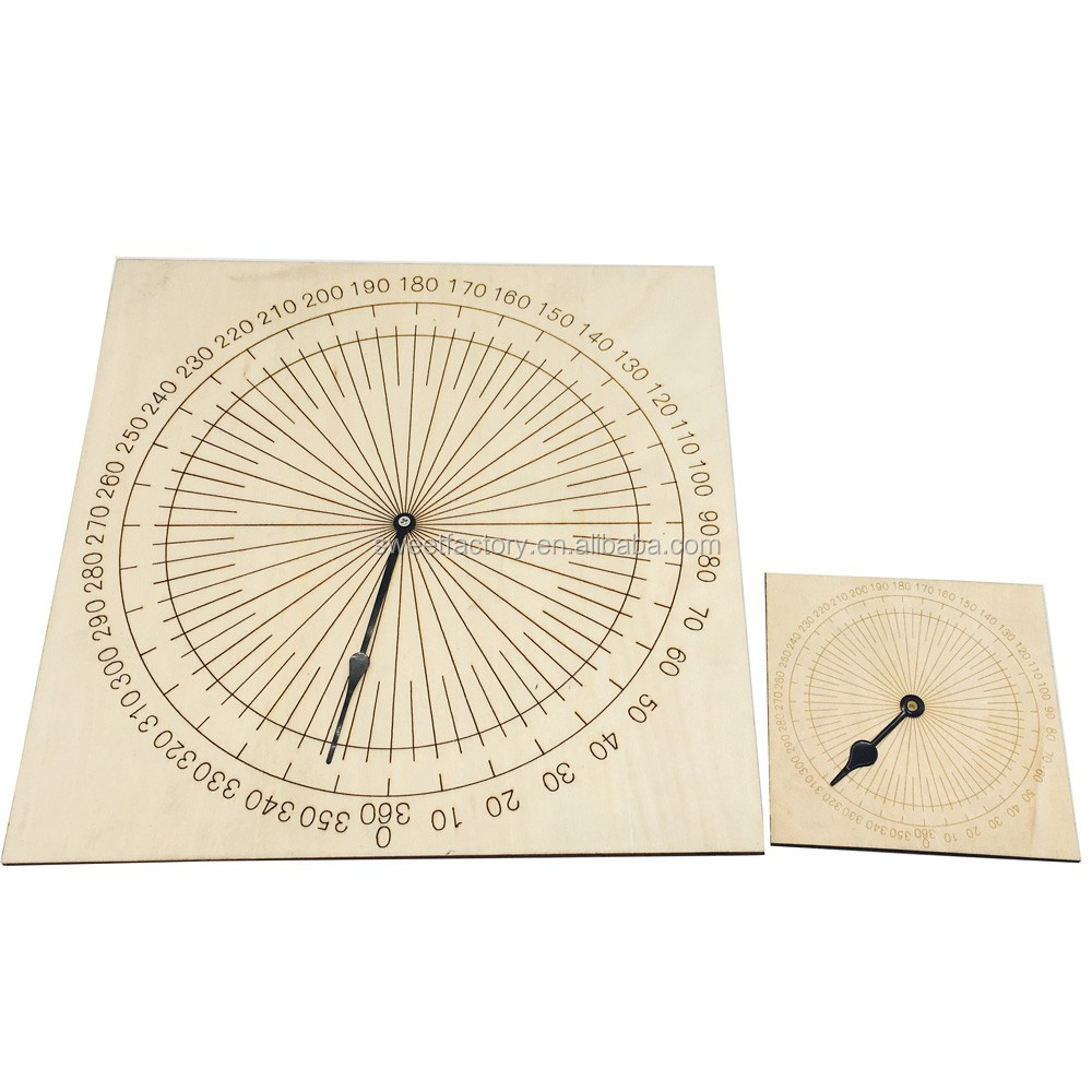 Teaching tools mathematics protractor educational equipment for school