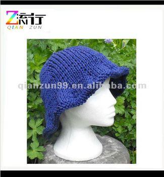 Knitted Pattern Big Floppy Hat Download Knitting Pattern ...