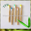 Most selling oem eco bamboo custom disposable toothbrush for hotels