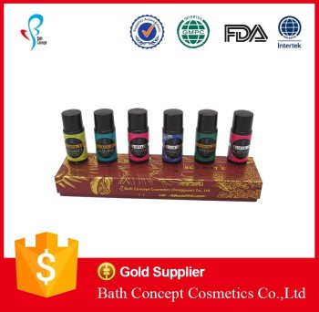 Wholesale 15ml flavor aroma diffuser gift set
