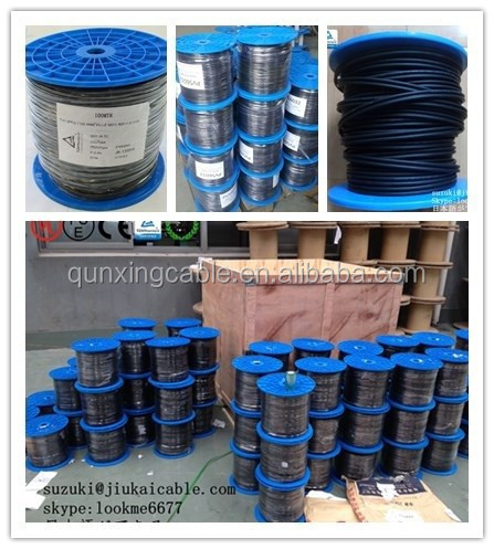 TUV /UL 250M/ROLL single core 1x10mm2 solar cable for solar photovoltaic power 1 core solar kabel 1x10mm2