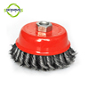 Cup Brush Steel Wire Brush Application