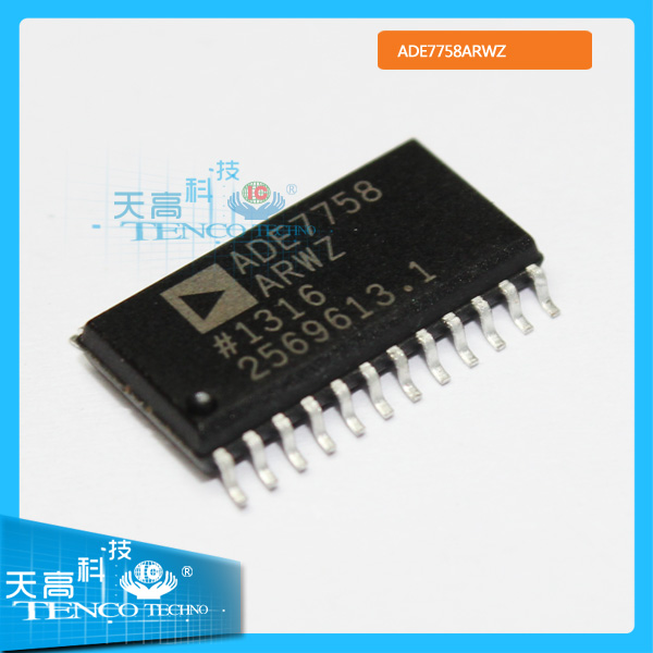 integrated circuit chip ADE7758ARWZ types of electronic components