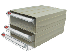 plastic A4 file drawer