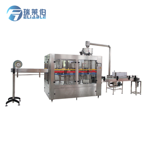 Newly PET Bottle Pure Water Filling Capping And Sealing Machine