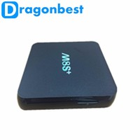 With air mouse s812 amlogic m8S plus Full HD Media Player 1080p Android TV Box Quad Core Build-in WIFI Bluetooth 4.0 Set Top Box