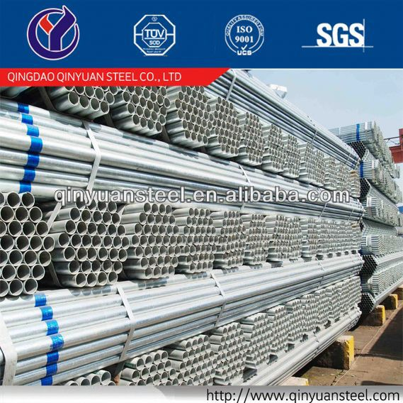 bs1387 galvanized steel pipe with socket