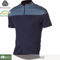 Fashion New Road Ride Jersey Short Sleeve Men's merino wool cycling jersey
