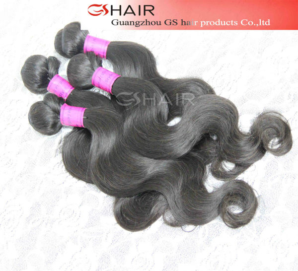 Hot selling tangle free natural black within 7 days refund or return policy virgin brazilian myanmar human hair weft